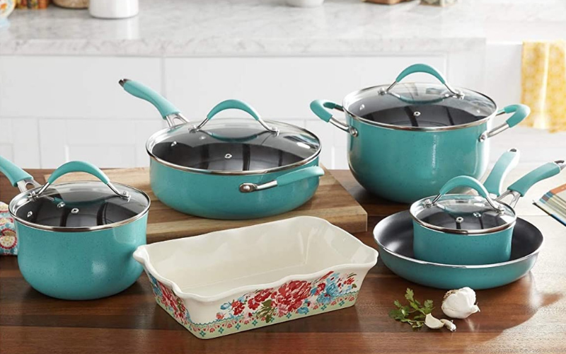 Pioneer Woman Cookware Set Review