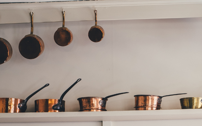 How to Clean and Care for Copper Cookware